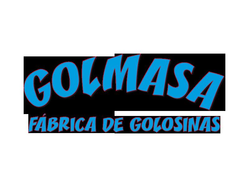Golmasa, fábrica de golosinas - Logo